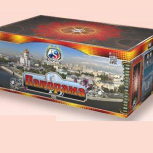 "01518 Батареи салютов Панорама, 1,25"" х150 залпов"