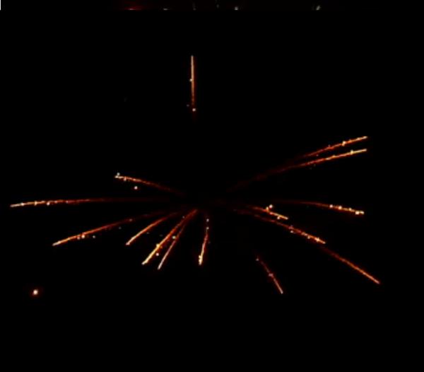 РС7128 Новогодний серпантин 1,1х25 залпов