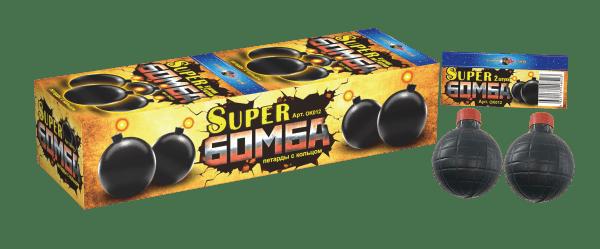 Супер Бомба (с чекой, в блистере 2 шт.)